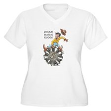 Round Engine Rodeo Plus Size T-Shirt