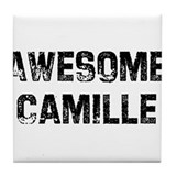Awesome Camille Tile Coaster
