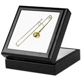 Trombone Keepsake Box