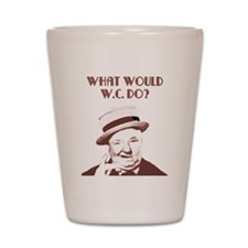 What would W.C. do? Shot Glass
