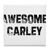 Awesome Carley Tile Coaster