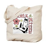 Ninja Kitty Tote Bag