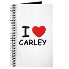 I love Carley Journal