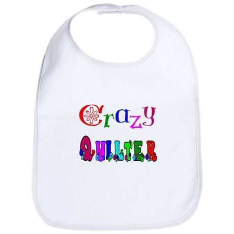 Crazy Quilter Bib