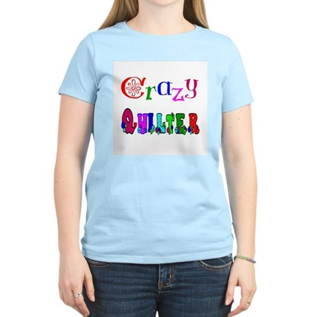 Crazy Quilter Women's Pink T-Shirt