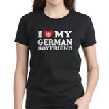 I Love My German Boyfriend Tee
