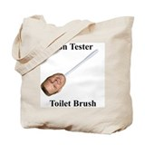 Jon Tester Toilet Brush Tote Bag