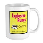 Explosive Runes Coffee Large Mug