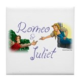 Romeo and Juliet Tile Coaster