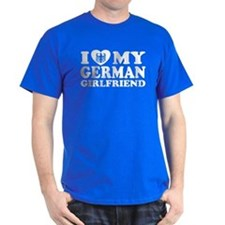 I Love My German Girlfriend T-Shirt
