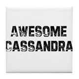 Awesome Cassandra Tile Coaster