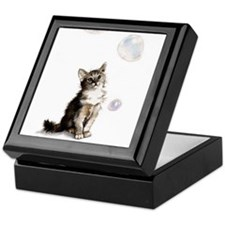 Abyssinian Kitty Keepsake Box
