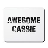 Awesome Cassie Mousepad