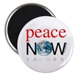 "Peace Now 2.25"" Magnet (100 pack)"