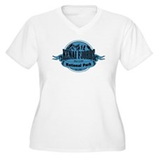 kenai fjords 1 Plus Size T-Shirt