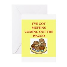 muffins Greeting Cards (Pk of 20)