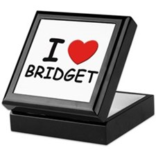 I love Bridget Keepsake Box