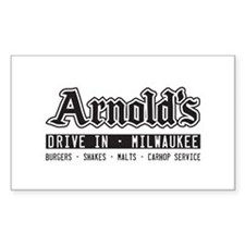 Arnold's Drive In Decal