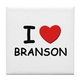 I love Branson Tile Coaster