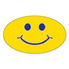 Happy Face Decal