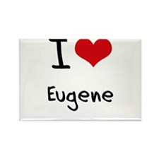 I Heart EUGENE Rectangle Magnet