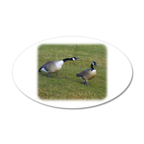 Canada Goose 9R005D-114 20x12 Oval Wall Decal
