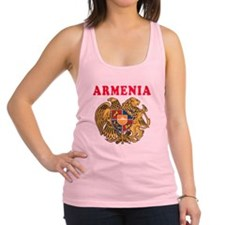 Armenia Coat Of Arms Designs Racerback Tank Top