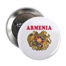 "Armenia Coat Of Arms Designs 2.25"" Button"