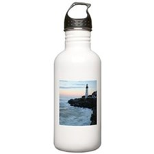 Portland Head Lighthouse at Sunset Water Bottle