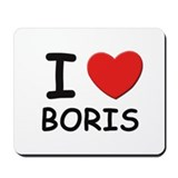 I love Boris Mousepad