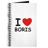 I love Boris Journal
