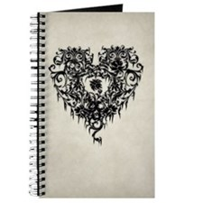 Ornate Gothic Heart Journal