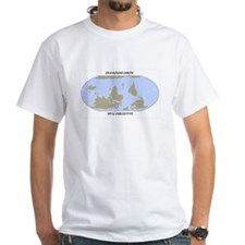 On a round earth2.jpg T-Shirt