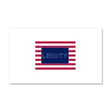 LIBERTY Car Magnet 20 x 12