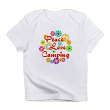 Peace Love Camping Infant T-Shirt