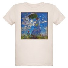 Monet - Woman with a Parasol T-Shirt