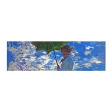 Monet - Woman with a Parasol Wall Decal