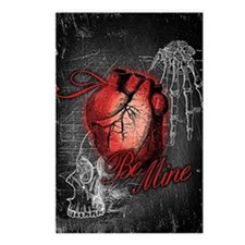 Gothic Love Be Mine Postcards (Package of 8)