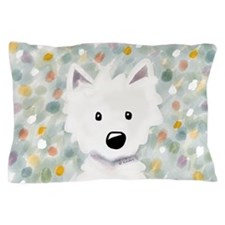 Westie Impressions Pillow Case