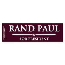 Vote Rand Paul President Bumper Sticker