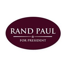 Vote Rand Paul President Oval Car Magnet
