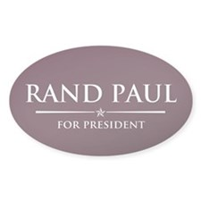 Vote Rand Paul President Decal
