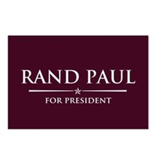 Vote Rand Paul President Postcards (Package of 8)