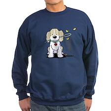 Spaniel & Flutterbies Sweatshirt