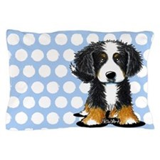 Bernese Mountain Dog Pillow Case