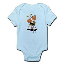 Brittany Spaniel Bee Infant Bodysuit