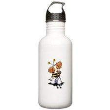 Brittany Spaniel Bee Water Bottle