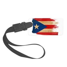Puerto Rican Flag Luggage Tag