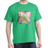 Abstract Cheerleader T-Shirt