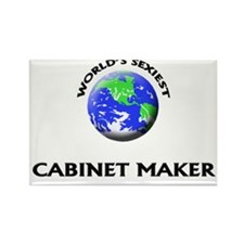 World's Sexiest Cabinet Maker Rectangle Magnet